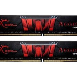 G. Skill AEGIS - DDR4 - 32 GB: 2 x 16 GB - DIMM 288-pin - 3000 MHz / PC4-24000 - CL16