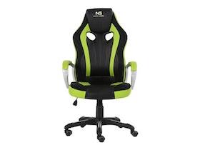 Nordic Gaming Challenger Gamer Stol Green Black