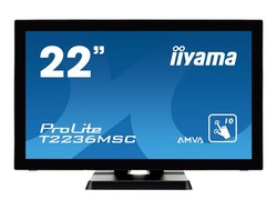 "Iiyama ProLite T2236MSC-B2 22"" 1920 x 1080 DVI VGA (HD-15) HDMI"