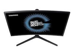 """Samsung CFG7 Series C24FG73FQU 24"""" 1920 x 1080 HDMI DisplayPort 144Hz Pivot skärm"""