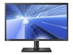 "Samsung SE650 Series S24E650DW 24"" 1920 x 1200 DVI VGA (HD-15) DisplayPort 60Hz Pivot skärm"
