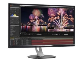 "Philips Brilliance P-line 328P6AUBREB 32"" 2560 x 1440 VGA (HD-15) HDMI DisplayPort USB-C 60Hz Pivot skärm"