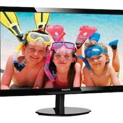 """Philips V-line 246V5LSB 24"""" 1920 x 1080 DVI VGA (HD-15) 60Hz"""
