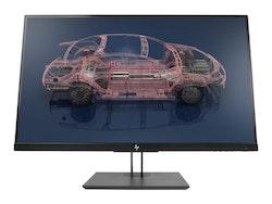 "HP Z27n G2 27"" 2560 x 1440 DVI HDMI DisplayPort USB-C 60Hz Pivot skärm"