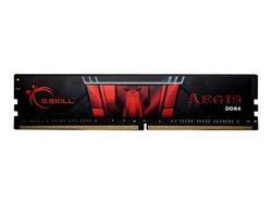 G. Skill AEGIS - DDR4 - 16 GB - DIMM 288-pin - 3000 MHz / PC4-24000 - CL16 - 1.35 V - ej buffrad - icke ECC