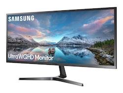 """Samsung SJ55W Series S34J550WQU 34.1"""" 3440 x 1440 HDMI DisplayPort 60Hz"""