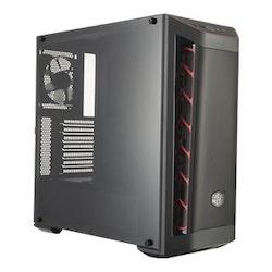 Cooler Master MasterBox MB511 - Miditower svart, röd
