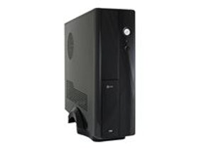 LC Power LC-1400mi - Desktop slimline - svart
