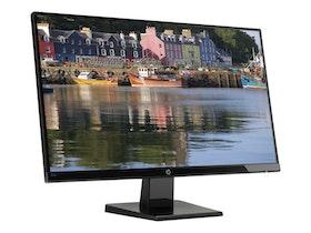 """HP 27w 27"""" 1920 x 1080 VGA (HD-15) HDMI DisplayPort 60Hz"""