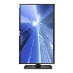"""Samsung SE650 Series S24E650BW 24"""" 1920 x 1200 DVI VGA (HD-15) 60Hz Pivot skärm"""
