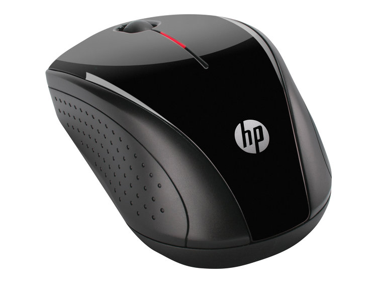 HP X3000 - Mus - optisk - 3 knappar - trådlös - Svart - dxtech 64cc2ca993eeb