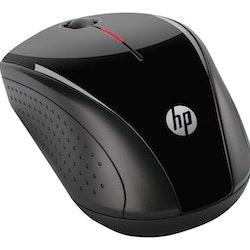 HP X3000 - Mus - optisk - 3 knappar - trådlös - Svart