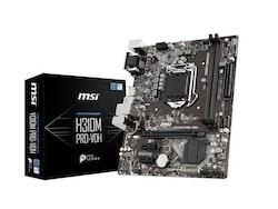 MSI H310M PRO-VDH Moderkort - Intel H310 - Intel LGA1151 socket - DDR4 RAM - Micro-ATX