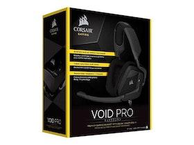CORSAIR Gaming VOID PRO Surround Kabling Svart Headset