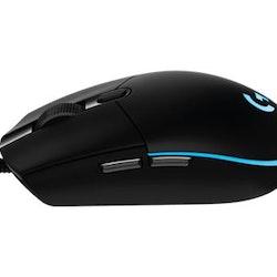 Logitech Gaming Mouse G102 Prodigy Optisk Kabling Svart