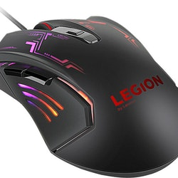 Lenovo Legion M200 RGB Gaming Mouse Optisk Kabling Svart