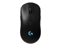 Logitech Gaming Mouse G Pro Optisk Trådlös Svart
