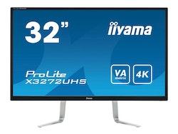 "IIYAMA 81,1cm (32"") X3272UHS-B1 16:9 2xHDMI+DP 4K black"