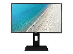 "Acer B246HLymdpr 24"" 1920 x 1080 DVI VGA (HD-15) DisplayPort 60Hz Pivot skärm"