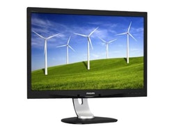 "Philips Brilliance B-line 240B4QPYEB 24"" 1920 x 1200 DVI VGA (HD-15) DisplayPort 60Hz Pivot Skärm"