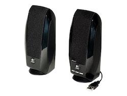 Logitech S150 Digital USB - Högtalare - för persondator - USB - 1.2 Watt (Total) - svart