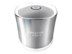 Creative Woof 3 - Högtalare - för bärbar användning - trådlös - silver