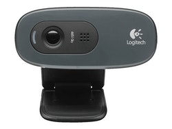 Logitech HD Webcam C270 - Webbkamera - färg - 1280 x 720 - ljud - USB 2.0