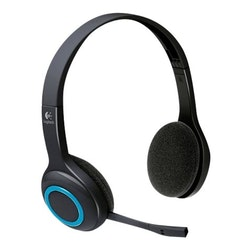 Logitech Wireless Headset H600 - Headset - på örat - 2,4 GHz - trådlös