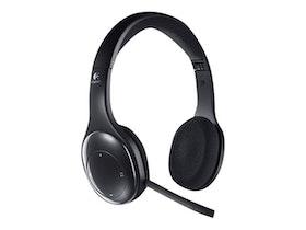 Logitech Wireless Headset H800 - Headset - på örat - 2,4 GHz - trådlös