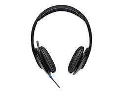 Logitech USB Headset H540 - Headset - på örat - kabelansluten