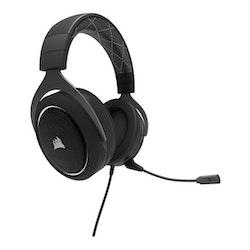 CORSAIR Gaming HS60 SURROUND Kabling vit svart Headset