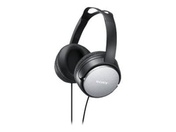Sony MDR-XD150 - Hörlurar - fullstorlek - kabelansluten - svart