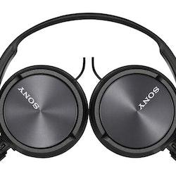 Sony MDR-ZX310 - Hörlurar - svart