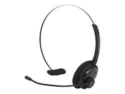 LogiLink Bluetooth Mono Headset - trådlös - svart