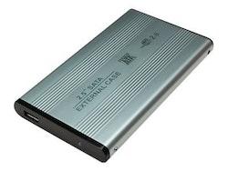 """LogiLink Ekstern Lagringspakning USB 2.0 SATA 1.5Gb/s 2.5"""""""