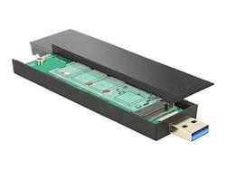 DeLOCK Ekstern Lagringspakning USB 3.1 (Gen 2) SATA 6Gb/s