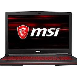 """MSI GL63 15.6"""" 120Hz i7-8750H 8G 512G RTX 2060"""