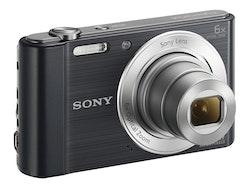 Sony Cyber-shot DSC-W810 20.1Megapixel svart Digitalkamera
