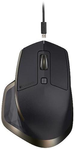 Logitech MX Master - Mus - laser - 5 knappar - trådlös