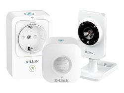 mydlink Smart Home HD Starter Kit - Hemmaautomatiserings-/säkerhetssystem - trådlös - 802.11b/g/n