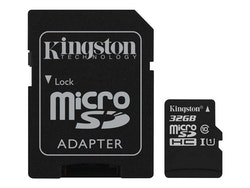Kingston Canvas Select microSDHC 32GB UHS Class 1 / Class10