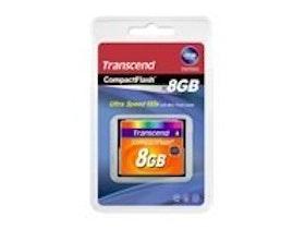 Transcend CompactFlash-kort 8GB