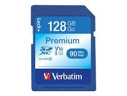 Verbatim Premium SDXC 128GB UHS Class 1 / Class10