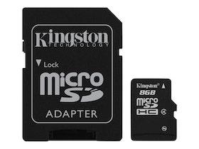 Kingston microSDHC 8GB Class 4