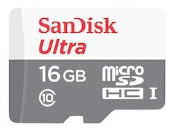 SanDisk Ultra microSDHC 16GB UHS-I / Class10
