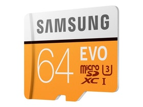 Samsung EVO MB-MP64GA microSDXC 64GB UHS-I U3 / Class10