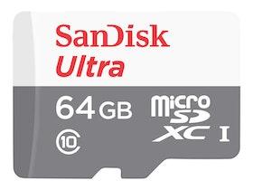 SanDisk Ultra microSDXC 64GB UHS-I / Class10