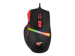 Havit Gaming Mouse with RGB Light bar 8200DPI