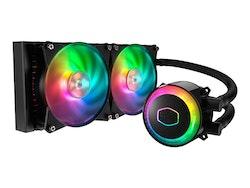 Cooler Master MasterLiquid ML240R RGB Kylsystem med vätska till processorn