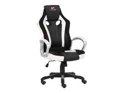 Nordic Gaming Heavy Metal Gaming Stol Black White